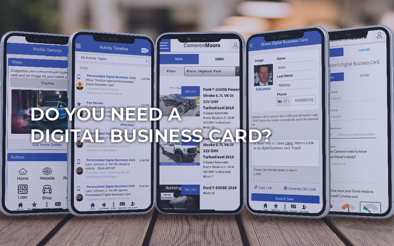 Do You Need A Digital Business Card?