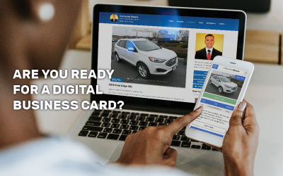 Are You Ready for a Digital Business Card?